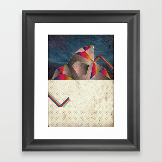 SpaCE_oToLanD Framed Art Print
