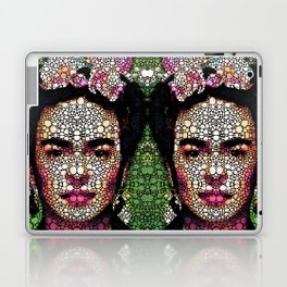 Frida Kahlo Art - Define Beauty Laptop & iPad Skin