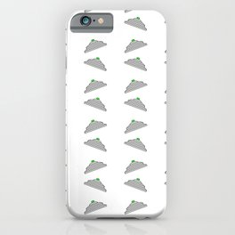 Flying saucer 3 iPhone Case