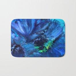 Blue Anemone Bath Mat