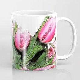 Fractalius tulips 4 Coffee Mug