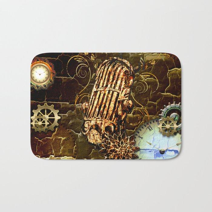 Steampunk, micropphone Bath Mat