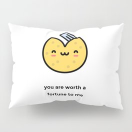 JUST A PUNNY FORTUNE COOKIE JOKE! Pillow Sham