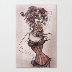 Lovely death Canvas Print