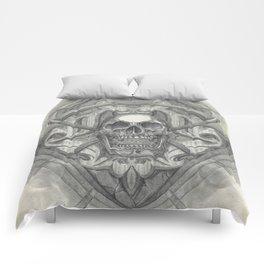 Crossed scythes Comforters