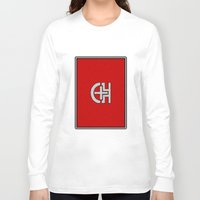 switzerland Long Sleeve T-shirts featuring Glassy Switzerland by matthieugissler