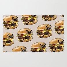 Pugs Burger Rug