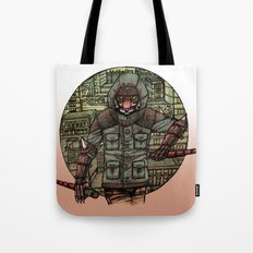 The Tiger and Concrete Jungle Tote Bag