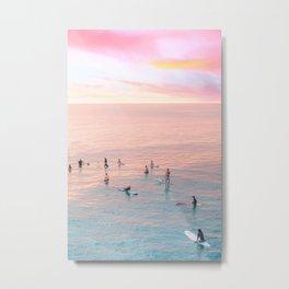 PINK PARADISE Metal Print