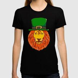Irish Lion St Patricks Day for Lion Lover T-shirt