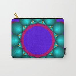 kaleidoscopic art -4- Carry-All Pouch