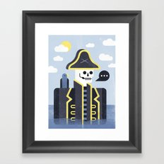 Dead Men Tell No Tales Framed Art Print