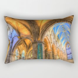 The Cathedral Atmosphere Rectangular Pillow