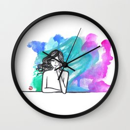 Into the Ether Wall Clock