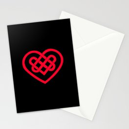 Celtic Heart (Dark) Stationery Cards