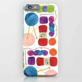 Yarn Love iPhone Case