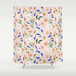 Tulum Floral Shower Curtain