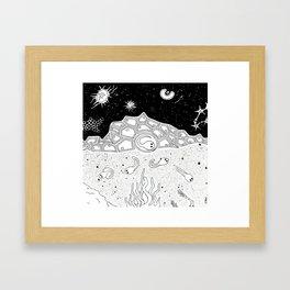 Evolution stage 1 Framed Art Print