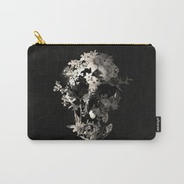 Spring Skull Monochrome Carry-All Pouch