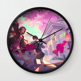 Kimetsu No Yaiba Wall Clock