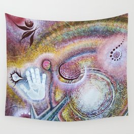 Feminine Touch Wall Tapestry