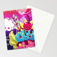 Sundae Sunset Stationery Cards