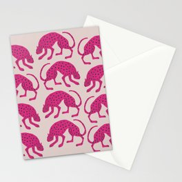 Wild Cats - Pink Stationery Cards