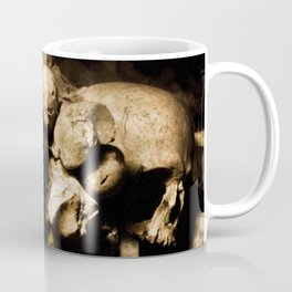 Skull walls in the catacombs Coffee Mug