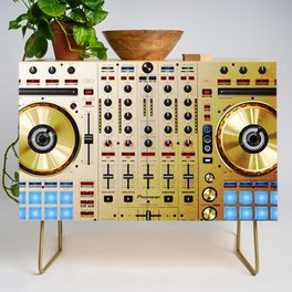DDJ SX N In Limited Edition Gold Colorway Credenza