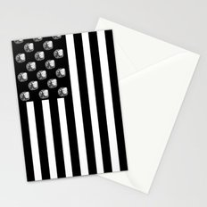US MiniFigure Flag - Vertical Stationery Cards