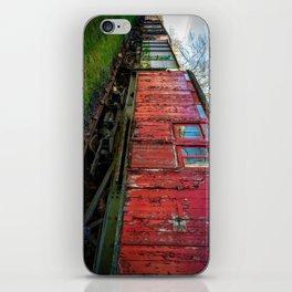 Old Train Wagon iPhone Skin