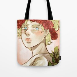 Roses & Gold Tote Bag