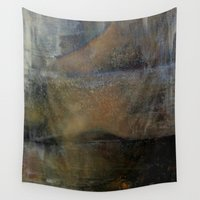 imagerybydianna Wall Tapestries featuring shatter by Imagery by dianna