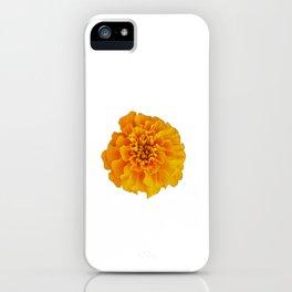 Orange Marigold iPhone Case