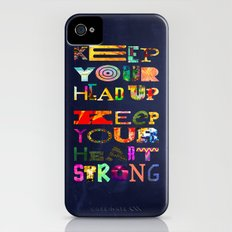 Keep your head up Slim Case iPhone (4, 4s)