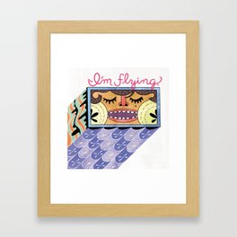I'm Flying! Framed Art Print