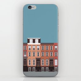West Village NYC Travel Poster iPhone Skin