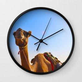 Camel Face Wall Clock