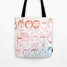 So Many People Tote Bag