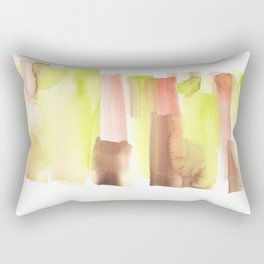 [161228] 23. Abstract Watercolour Color Study|Watercolor Brush Stroke Rectangular Pillow