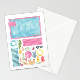 Pool Party! Stationery Cards