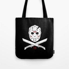 Jason mask Tote Bag
