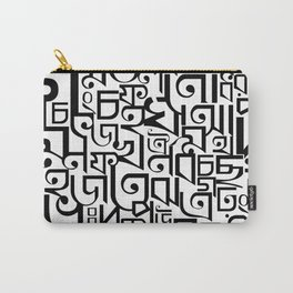 Bengali Alphabets Carry-All Pouch
