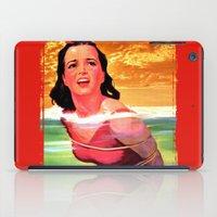 bondage iPad Cases featuring Beach Blanket Bondage by sasha alexandre keen