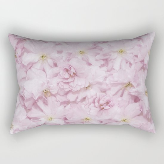 Sakura- cherryblossoms pattern Rectangular Pillow