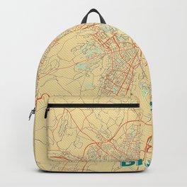 Dijon Map Retro Backpack