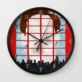 The Truman Show Wall Clock