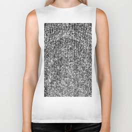 The Lights (Black and White) Biker Tank