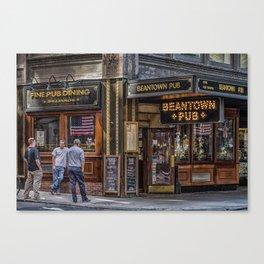 Beantown Pub Canvas Print