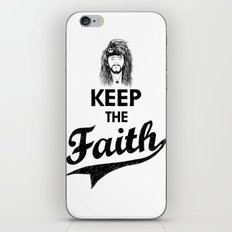 KEEP THE FAITH iPhone & iPod Skin